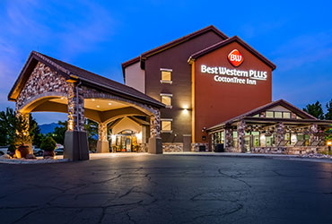 Exterior Picture of the Best Western Plus CottonTree Inn Sandy